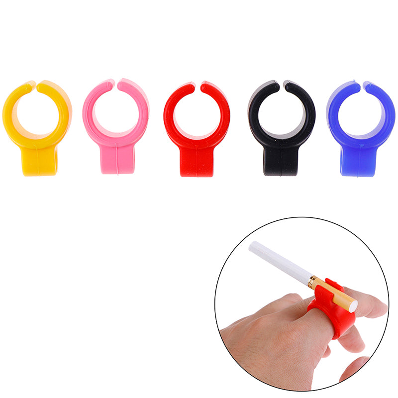 Silicone Ring Finger Hand Rack Cigarette Holder For Regular Smoking Accessories