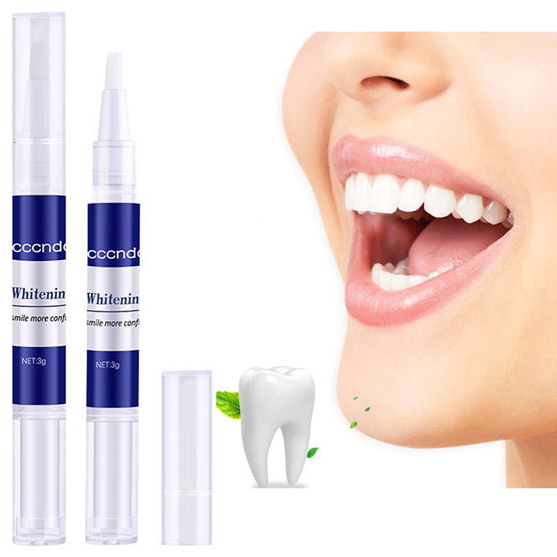 1 PC Tooth Whitening Pen Cleaning Serum Remove Plaque Stains Dental Tool