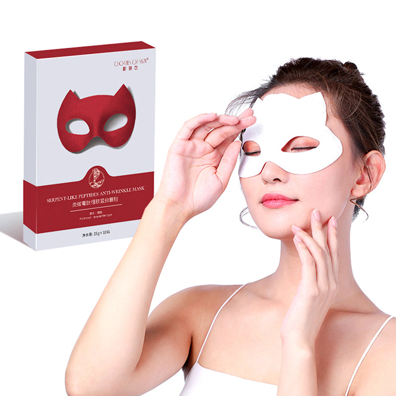 10pc/box Anti Wrinkle Eye Face Pad Skin Care Tools Reusable Prevent Face Wrinkle
