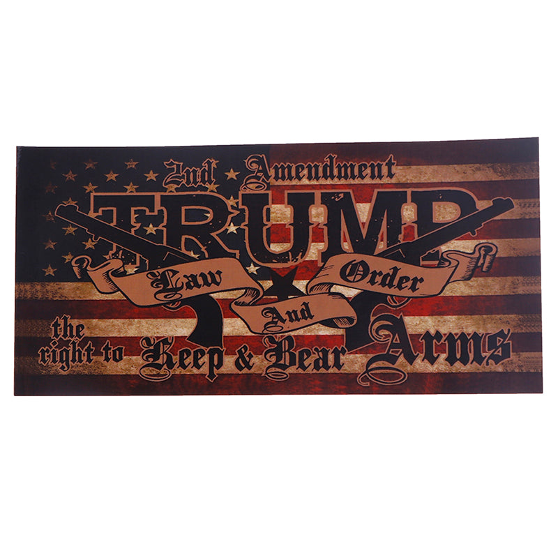 10pcs Car Bumper Stickers With Lettering Donald Trump President Campaign Sticker