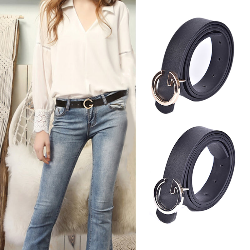 Femal G Belt Fashion Belts Women Ladies Belt jeans Men Letter Black Belt