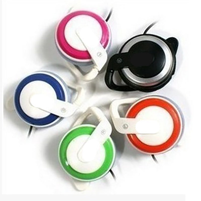 Super Bass Headphones Noise Canceling Headset Ear Hook Music Headphones with Mic