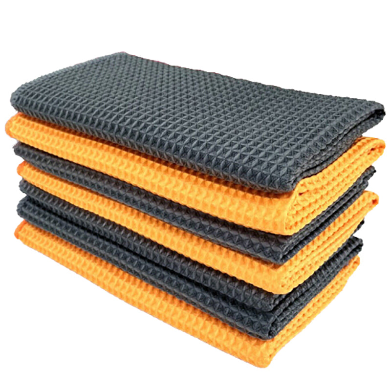 Car Window Care Microfiber Detailing Towel Cleaning Wash Traceless Cloth 40x40cm
