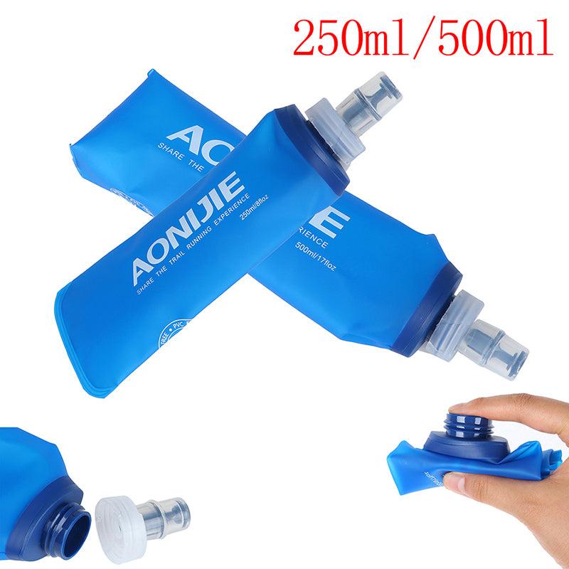 AONIJIE TPU Folding Soft Flask SportS Water Bottle for Running Camping Hiking