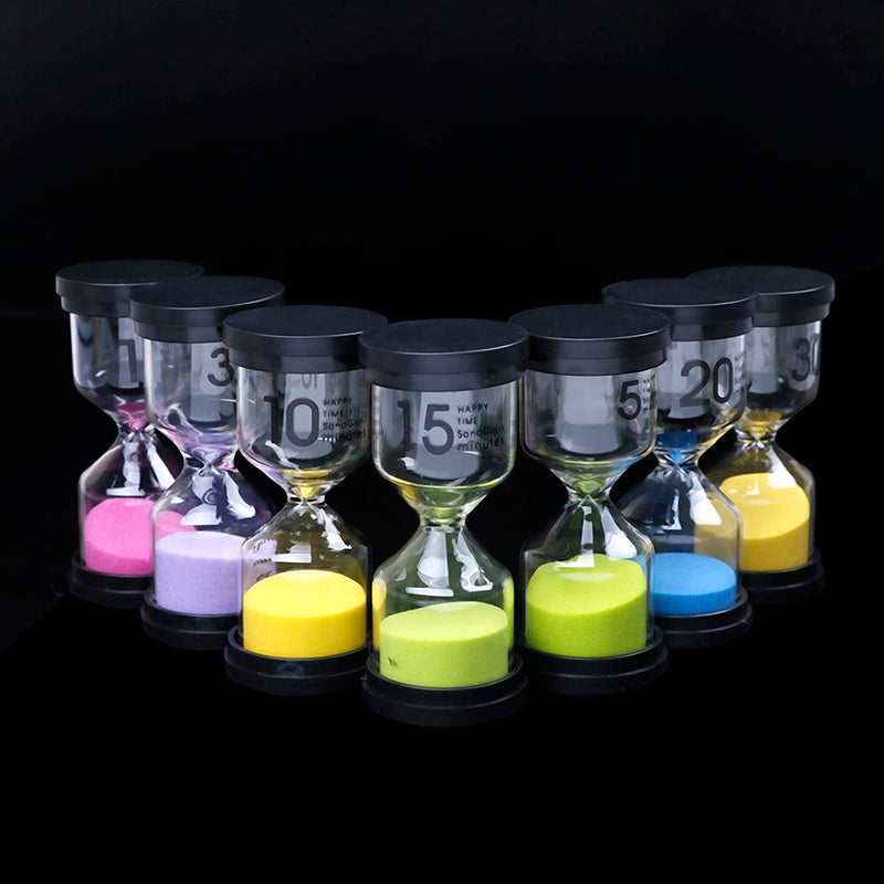 1/3/5/10/15/30 Minutes sand glass sandglass hourglass timer clock decor gift