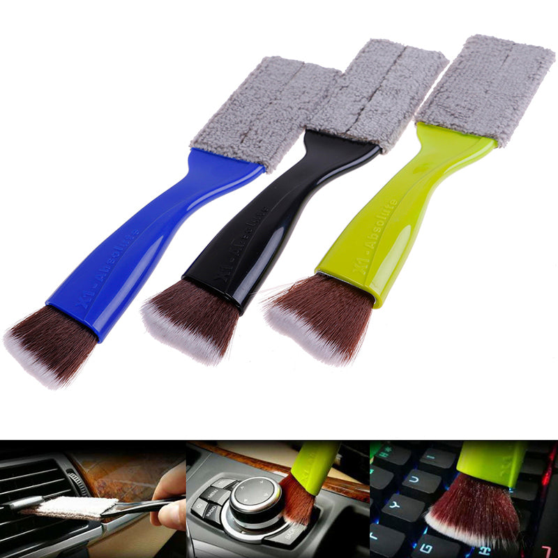 Double Side Multi-function Interior Cleaning Brushes Car Wash Tools air Conditio