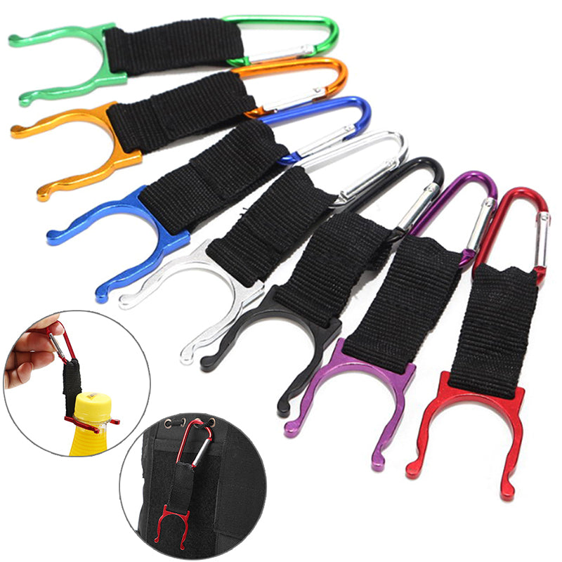 1/3Pc Water Bottle Holder Hook Buckle Clip Carabiner Snap Outdoor Camping Hiking