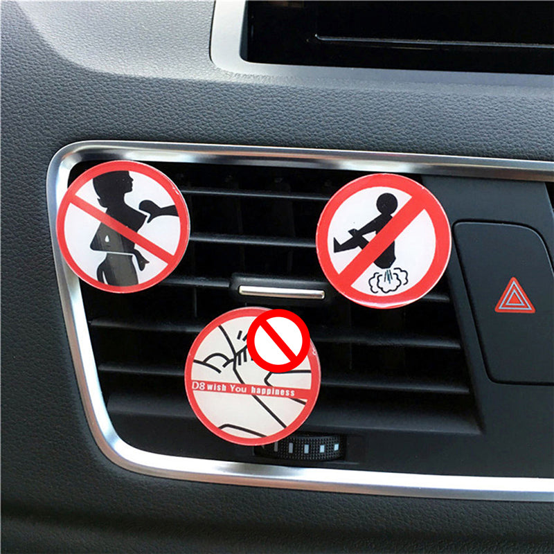 Acrylic Automotive Ornament Perfume Funny Not fart Men's Air Freshener Perfumes