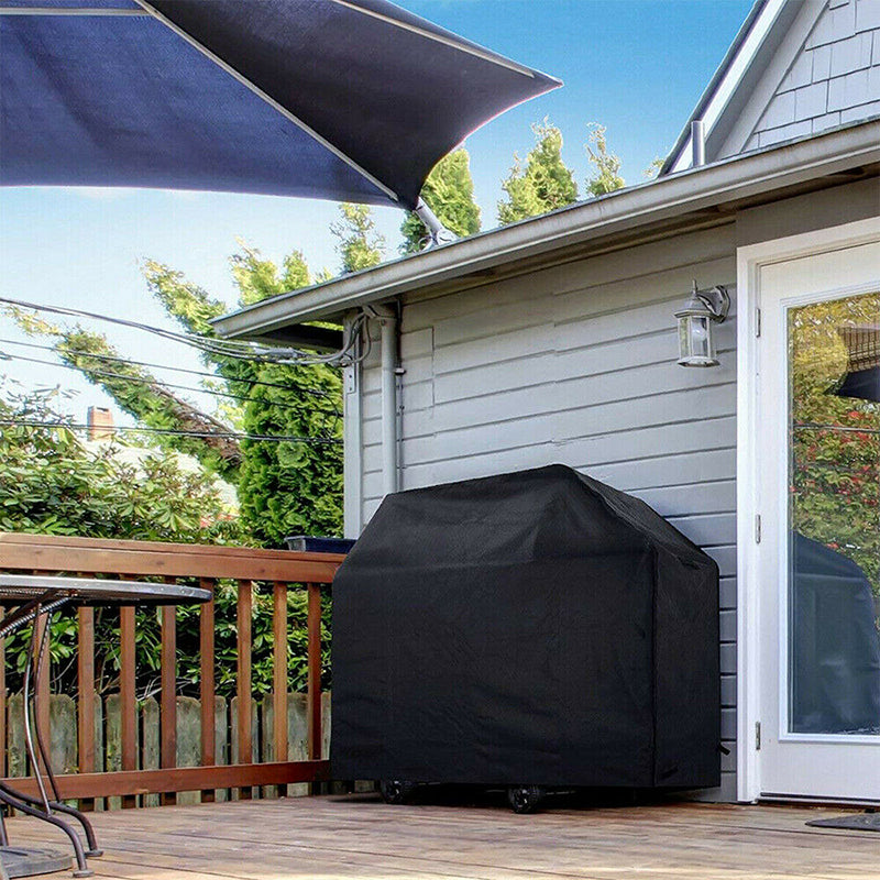 BBQ Gas Grill Cover 57 Waterproof Outdoor Heavy Duty UV Gas Charcoal Protection