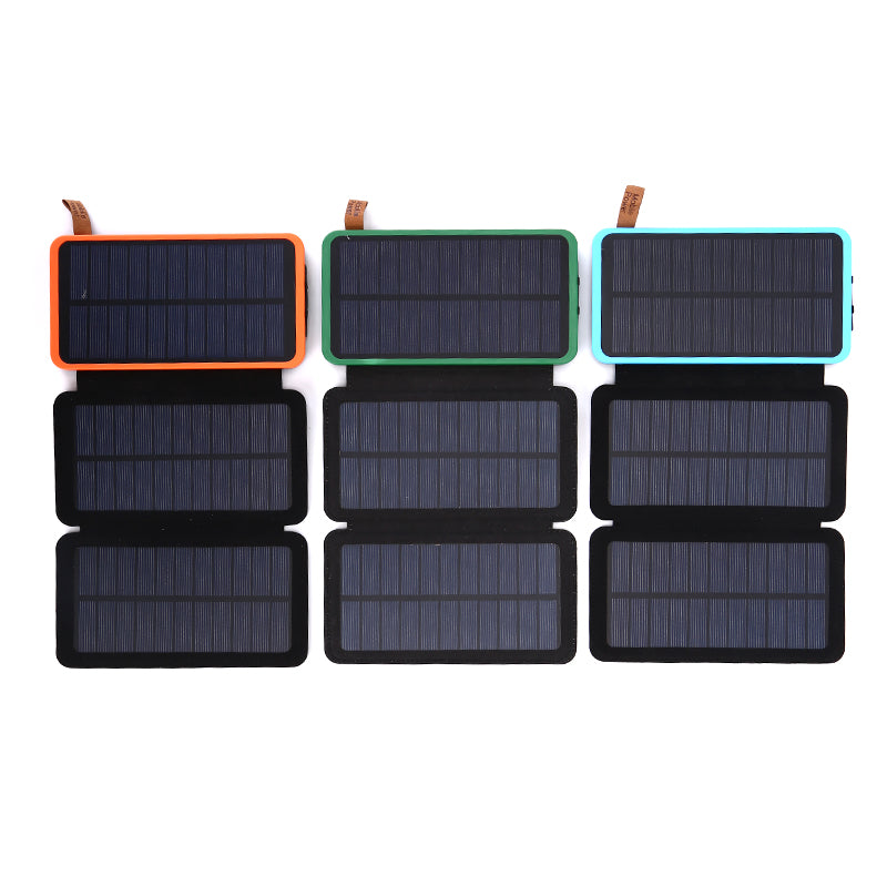 Folding solar celles universal Phones power bank Charger Outdoors External