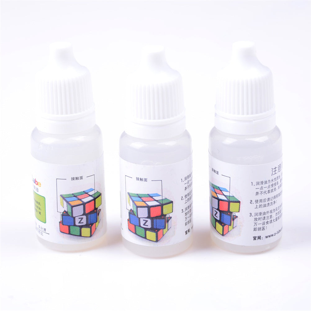 10ML Rubiks Magic Square Cube Smooth Lubricating Oil Silicone Lubricants
