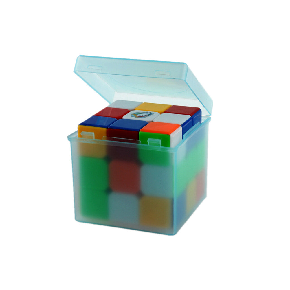 Random Color Plastic Saving Box Outer Packing for 3x3x3 Magic Cube
