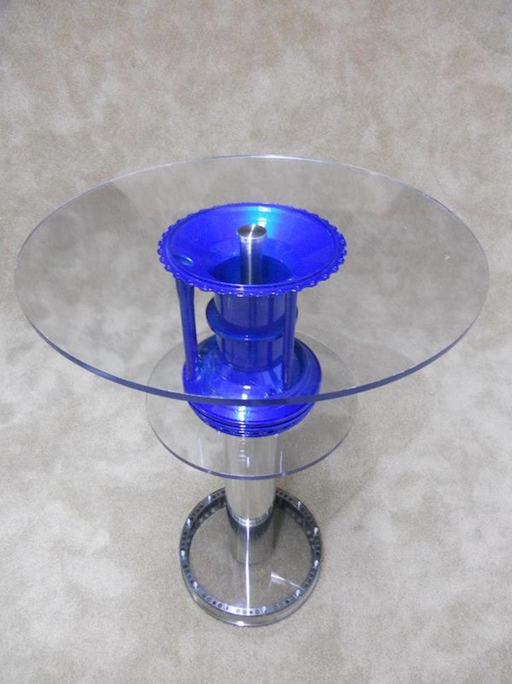 Pratt & Whitney JT8D Heat Shield Martini or Coffee Table