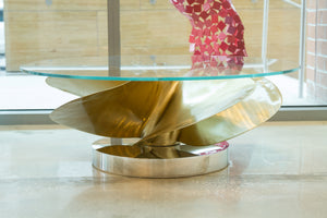 Boat Propeller Coffee Table
