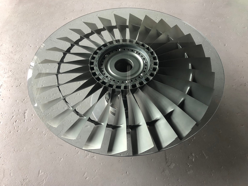 Boeing 737 / Pratt & Whitney JT8D Fan Blade Coffee Table