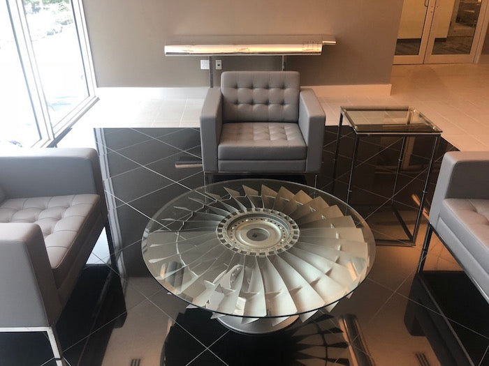 Boeing 737 Engine Stator Coffee Table
