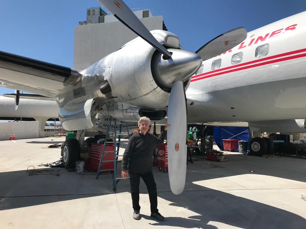 TWA Lockheed Constellation Propellers & Spinners