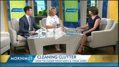 Kim Carruthers Channel 9 Mornings - The Art of Tidying Up