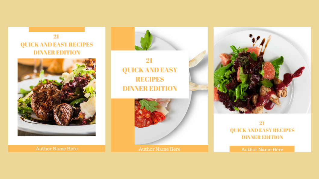 Ebook Cookbook Template