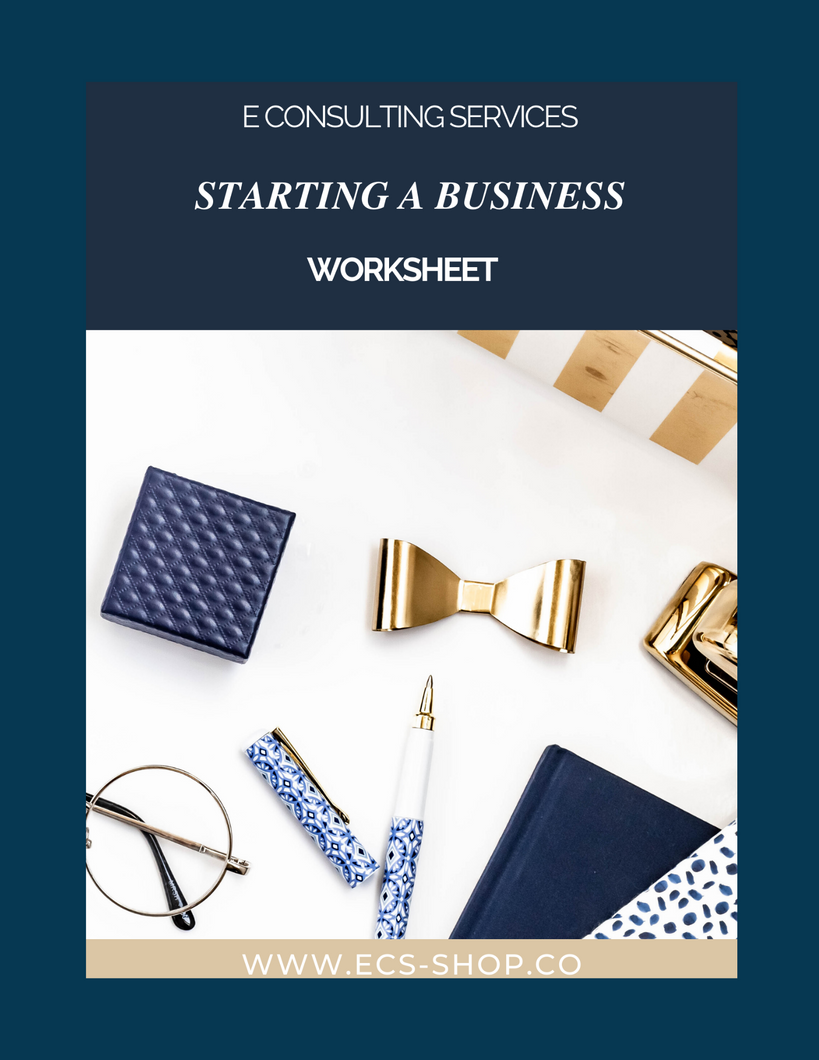 Starting a Business Worksheet