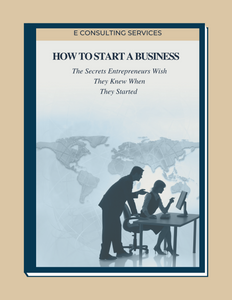 How to start a Business- Ebook