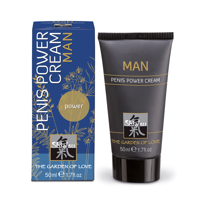 Shiatsu Penis Power Cream Man