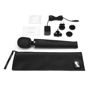 Le-Wand Rechargeable Massager Black3