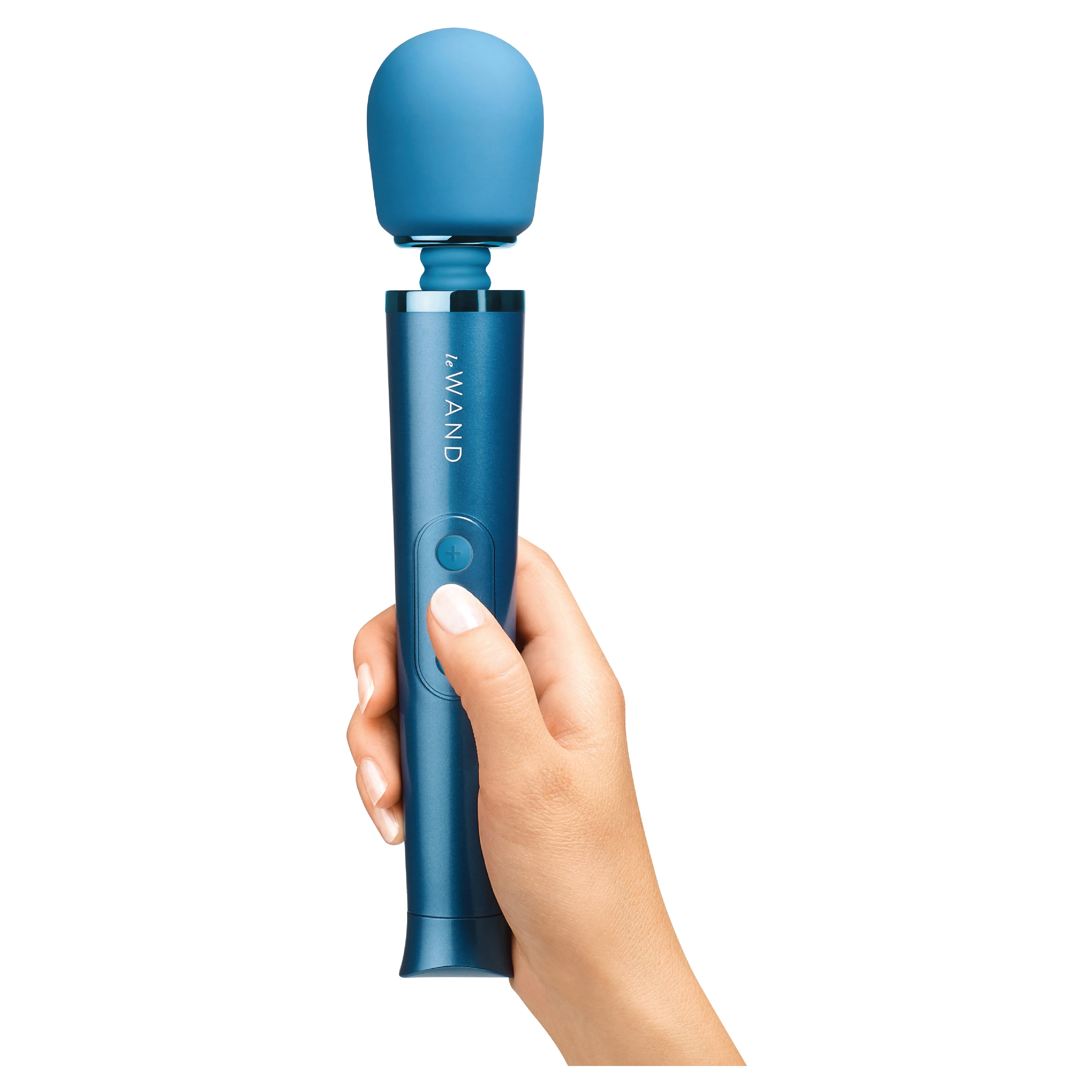 Le-Wand Petite Rechargeable Massager Blue1