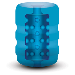 Zolo Backdoor Pocket Stroker Pocket Stroker Blue Os