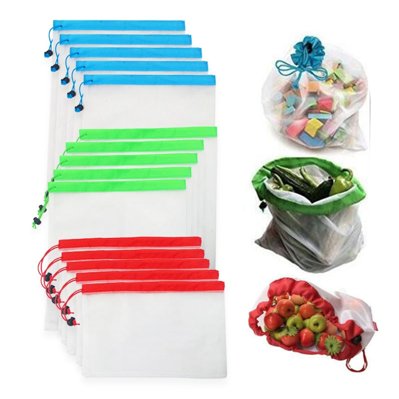 5pcs Reusable Produce Bags