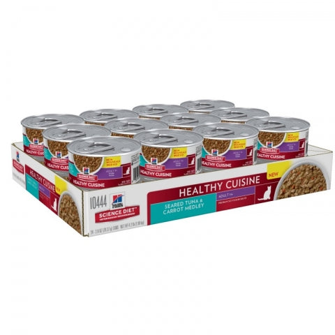 Science Diet Feline Mat Tndr Tuna 79Gx24