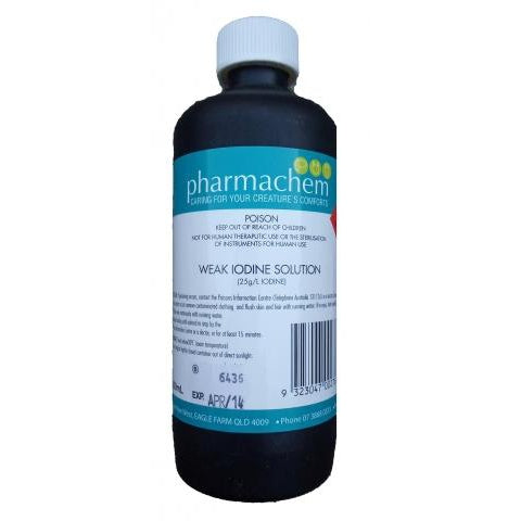 Pharmachem Iodine Strong 10% 500Ml