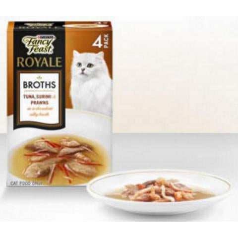 Ffeast Tn Surimi Prawn Broth Mp(4X40G)X4