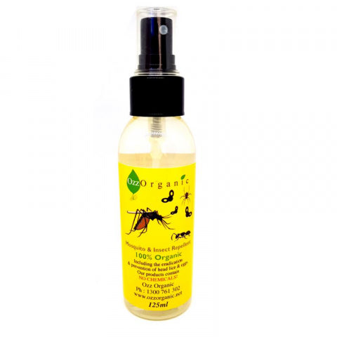 Ozz Organic Insect Repellent 125Ml