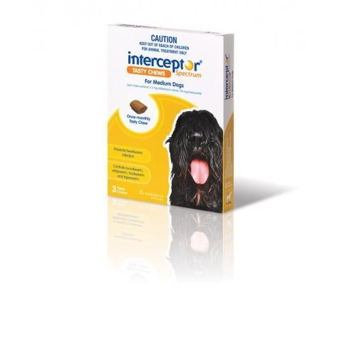 Interceptor Medium 11-22Kg Yellow 3Pack