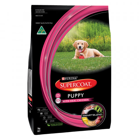 Supercoat Puppy Chicken 3Kg