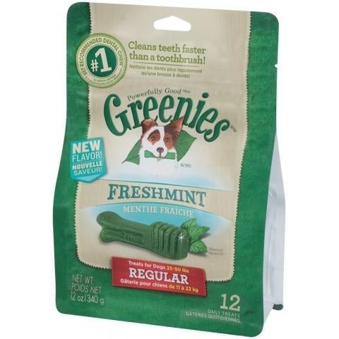 Greenies Freshmint Pack 340G Medium Breed