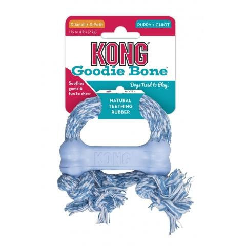 KONG Puppy Goodie Bone Rope Xsmall