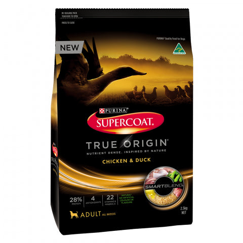 Supercoat True Origin Chic & Duck 2.5Kg