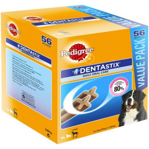 Pedigree Dentastix Large Breed 56 Pack Dog Treats