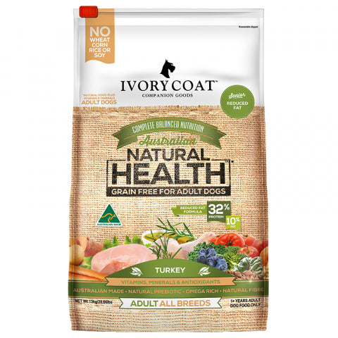 Ivory Coat 13Kg Low Fat Red Turkey Grain Free
