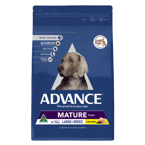 Advance Dog Mature Large Breed Plus Chicken 15Kg