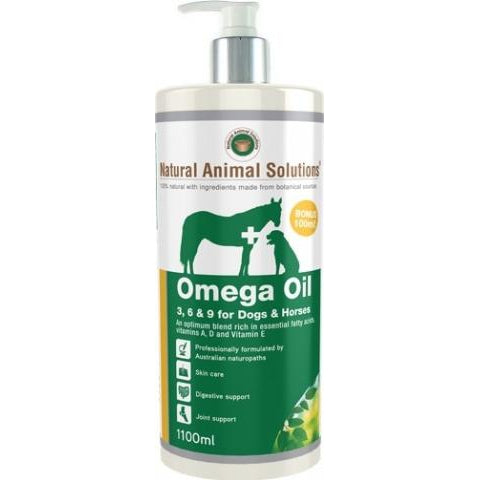 Natural Animal Solutions Omega Oil 1100Ml
