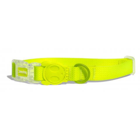 Zee Dog Neopro Yellow Collar Xsmall