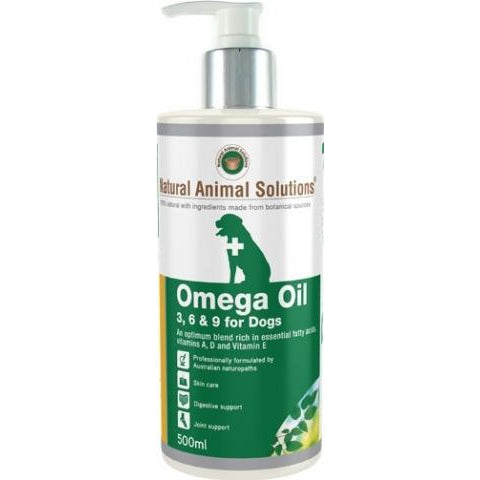 Natural Animal Solutions Omega Oil 500Ml