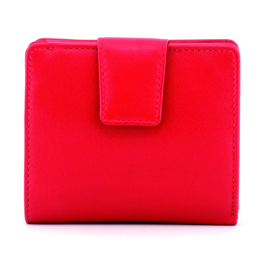 Red Newton Leather Medium Everyday Purse -  - Yoshi