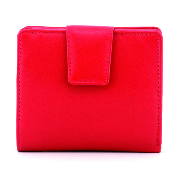 Red Newton Leather Medium Everyday Purse