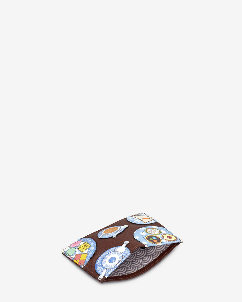 Afternoon Tea Brown Leather Academy Card Holder -  - Yoshi