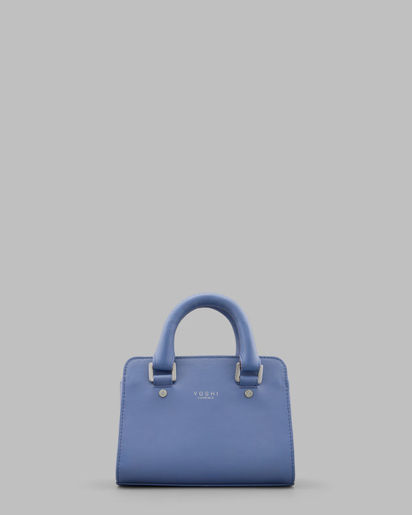 Amberg Cornflower Blue Leather Grab Bag A