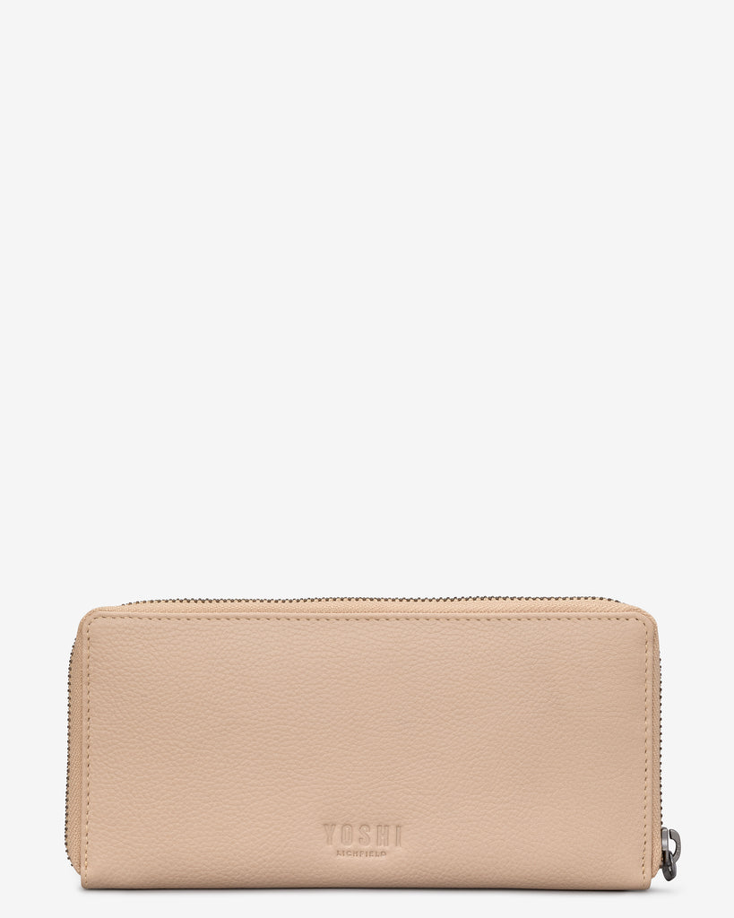 Autumn Girl Frappe Leather Baxter Purse -  - Yoshi